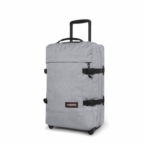 Eastpak Strapverz kuffert / trolley / rygsæk, small, Grå